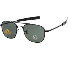 2019 occhiali da sole ao Nuovi occhiali da sole pilota Hot AO per gli occhiali da sole da uomo di design Occhiali da sole uomini di moda UV400 Oku Ross De Sol - Occhiali da sole da uomo Y256 occhiali da sole ao economici
