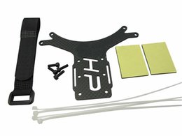 Wholesale Fpv Mount - Carbon Fiber AV Transmission Mount Plate for DJI Phantom Aerial FPV