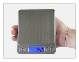 Ouro pesa on-line-DHL Alta precisão jóias escala em miniatura de jóias de ouro medicina eletrônica gramas pesam 0.01 g escala balança de cozinha