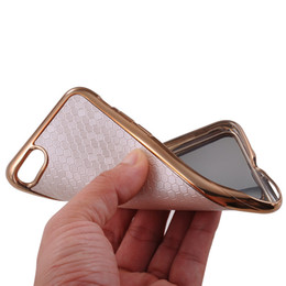 Wholesale Wholesalers Football Phone Cases - TPU And Imitation Leather With Football Veins Smart Cell Phone Cover Case for Iphone 7 or 7 Plus