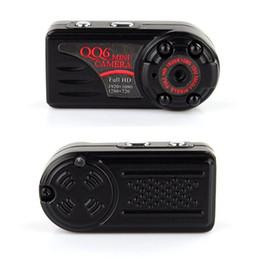 2019 хорошая крытая камера QQ6 Full HD 1080P Mini DV DVR 12.0 Мп Широкоугольная камера ИК ночного видения Montion Dection Mini DV