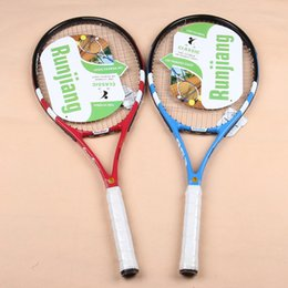 Wholesale Aluminum Level - Free shipping tennis racket, spot wholesale, high-level competition, carbon fiber, carbon and aluminum integrated tennis racket