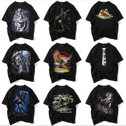 Wholesale New Type Shirt Design - 2017 new fashion deft design print men's tees multi type men's T-shirts men's hiphop tee shirts free shipping