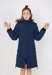Wholesale Women Overcoat Price - Free delivery of hot products fashion price new women's long-overcoat fur-collar jacket popular jacket trend overcoat