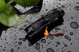 Wholesale Import Cree Lights - LED import CREE Q5 mini ultra-mini miniature telescopic focus flashlight long-range rechargeable portable light