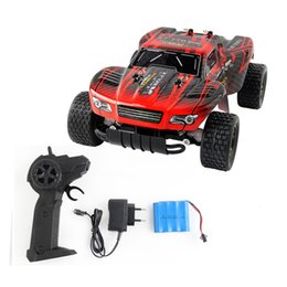 Wholesale car rubbers - Jule RC Car Electric Toys Remote Control Newest Boys RC Car 2.4G Shaft Drive Truck Speed 20KM Control Remoto Drift Car 1:18 battery +NB