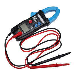 Wholesale digital ac dc clamp meter - Freeshipping High Quality ACM23 Intelligent Digital Clamp Meter Multimeter AC DC Current Volt Tester