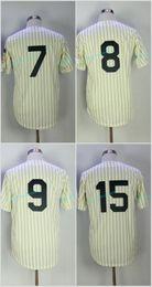 Wholesale Order Baseball Jersey Cheap - Mens 1951 Mickey Mantle 1951 Yogi Berra 1961 Roger Maris 1969 Thurman Munson New York Yankees Throwback Baseball Jerseys Cheap Mix Order