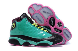 Wholesale Winter Leathers - Retro 13 Doernbecher Mens Basketball Shoes Autumn Winter 13s XIII Leathers High Top Sneakers Size US8-13