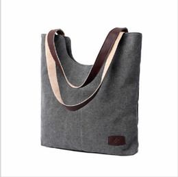 Wholesale Tote Matching Handbag - Canvas Bag Retro Fashion All-Match 2016 New Cotton Bag Shoulder Handbag Simple