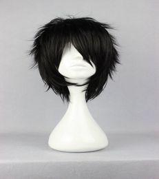 Wholesale Center Design - Top Center Design Anime The Prince of Tennis Akaya Kirihara Classical Asia Curly Black Cosplay Wig