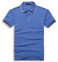 Wholesale Polo Clothing Sale - Hot Sale 2018 Summer Men Polo FRED Brand Embroidery Shirt Short Sleeves Tops Turn-down Collar Polo Clothing Male Fashion Casual Polo S-3XL
