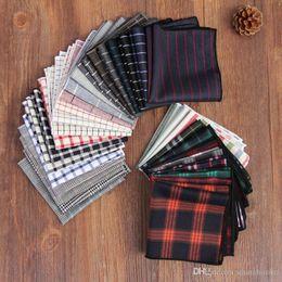 Coton Hankerchief Pocket square 67 couleur Serviette mouchoir mouchoir Noserag pour hommes Pour cravate Fête Cocktail Fête De Mariage Noël ? partir de fabricateur