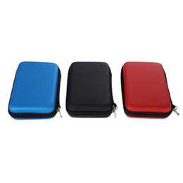 Wholesale Nintendo 3ds Hard Case - 1pcs EVA Carrying Case Bag for New 3DS XL 3DS LL 3DS XL 3 Styles for Nintendo Pouch Hard Bags with Strap Blue Black Red