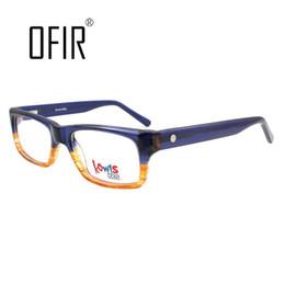 Wholesale A6 Glass - Wholesale- Boys Girls Optical Frames Kids Glasses Frames Plain Mirror Brand Plate Eyeglasses Armacao De Oculos 2016 New Listed KW-A6