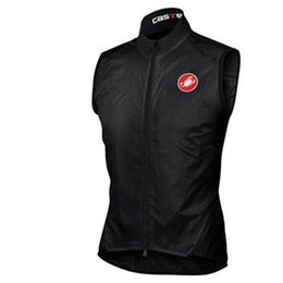 Wholesale Road Bike New - Top sale 2016 new man Autumn outdoor windproof vest sleeveless jerseys cycling Windcoat road bike cycling sportswears rope ciclismo maillot