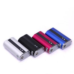 Wholesale Electronic Cigarette Ego Box - Eleaf istick 50W box mod E leaf istick 50W battery 4400mah with usb cable ego adaptor electronic cigarette battery VS 10W 30W 40w 50W