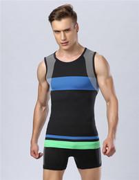 unter hemdweste Rabatt Großhandels-2015 Sommer-Männer unter Hemd übersteigt Haut-Körper-Kompressions-Abnutzungs-Basisschicht-Behälter-Oberseiten-Weste heiß