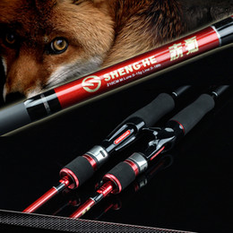 Wholesale Red Bait Fish - ROSEWOOD 2.1m M Power Ul Spinning Baitcasting Fishing Rod 5-18LB Line Weight Ultra Light Carbon Spinning Rod Bait Caster Rod