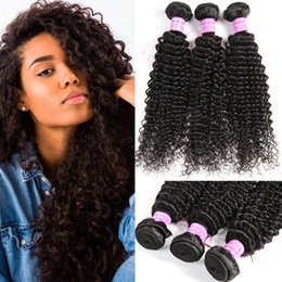 Wholesale Kinky Curly Brazilian Remy Hair - Glary Mink Brazilian Peruvian Malaysian Raw Indian Hair Weave Bundles Virgin Kinky Curly Human Hair Extensions