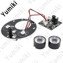 Wholesale Cctv Ir Infrared Led Board - Yumiki Spot Light Infrared 2x IR LED board for CCTV cameras night vision (72mm diameter)
