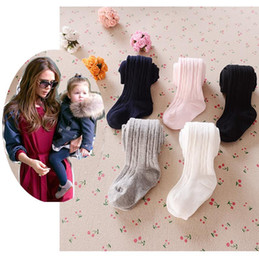 Wholesale Lolita Socks - baby tights for girls toddler candy color tights pants baby Children girls tights bowknot newborn leggings Cotton baby infant socks