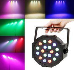 Wholesale Dmx Color Changing Lights - RGBAW LED laser stage light 18*15W Super bright DMX led par light pub dancing party use many color change