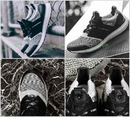Wholesale Social Shoes - 2017 New Ultra BOOST 3.0 SNS x Social Status x triple black ultra boost Rainbow Multicolor Sneakers Ultraboost Primeknit sneakers shoes