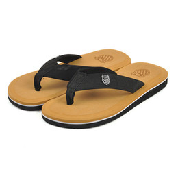 Wholesale New Men Fashion Shoes Sandals - 1Pairs High Quality New 2016 Sandals Men Flip Flops Summer Shoes Men's Flip-flops Beach Shoes Men Slippers Casual Sandalias Slippers