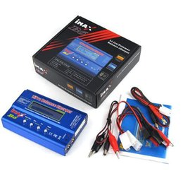 Wholesale Imax B6 Balance - 20PCS DHL fast delivery iMAX B6 Lipo NiMh Li-ion Ni-Cd RC Battery Balance Digital Charger Discharger