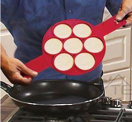 Wholesale Ring Maker - Pancake Maker Nonstick Cooking Tool Egg Ring Maker Pancakes Cheese Egg Cooker Pan Flip Eggs Mold Kitchen Baking Accessories MT-022