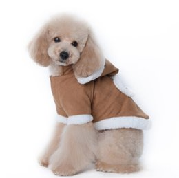 Wholesale Dog Clothes Bear - Shipping free The pet new clothes Tactic winter clothing young dog coat thick cotton cold bear clothing