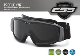 Wholesale ESS Profile NVG Military Goggles Fit with Helmets Ballistic Lens Night Vision Men Army Sunglasses Tactical Combat Eyeshields