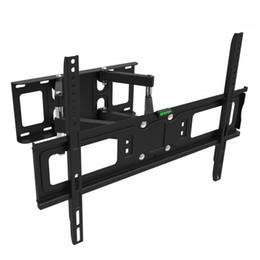 "Wholesale Flat Tv Mounting Brackets - FULL MOTION TILT LCD LED TV WALL MOUNT DUAL ARM32 39 40 42 46 47 50 55 60 65""M65"