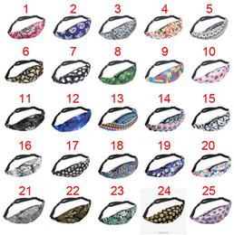 Wholesale Wholesale Printing Equipment - 10 Pcs Belt Bags Waist Bags 3D Printing fanny pack 2016 Fashion pochete waist bag military equipment running belt tactical pouch