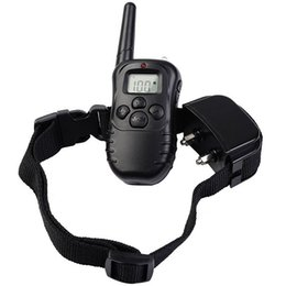 Wholesale Remote Shock Collars - Petrainer Rechargeable and Rainproof 330 yd Remote Dog Training Shock Collar with Beep, Vibration and Shock Electronic Electric Collar