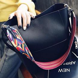 Wholesale Oblique Shoulder Strap - Composite bag ladies oblique leather bag PU handbag spring casual handbag, color shoulder strap Bolso Mujer Negro Hobos