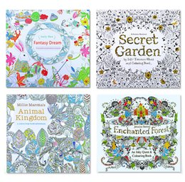 Secret Garden Lost Ocean An Inky Treasure Hunt And Coloring Book For Children Adult Relieve Stress