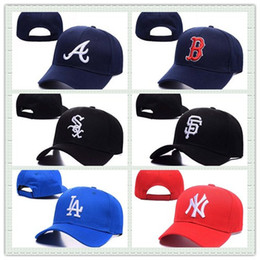 Wholesale Wholesale Flat Hats Sports - Hot Sale Summer Men Baseball Cap Cotton Hunting Hat Outdoor New York Sports Flat Hat Fashion Women Casquette Snapback