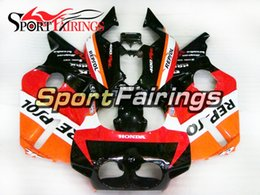 1987 motorcycles Promo Codes - Customize Complete Motorcycle Fairings For Honda CBR400RR NC23 87 88 89 Year 1987 1988 1989 Plastics ABS Body Kits Black Red Orange Cowling