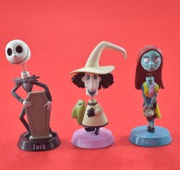 Wholesale Shake Dolls - The Nightmare Before Christmas,Home decoration,little doll that can shake its head,5~7cm,6 pcs  1 lot.free shipping