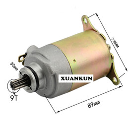 Wholesale Scooter Fuel - Scooter Motorcycle Motor Fuel Boat Electric Starting Motor GY6-125