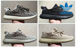 Wholesale Pirate Green - PU+RB Adidas Yeezy Boost 350 Pirate Black Turtle Dove Moonrock Oxford Tan Mens Running Shoes Women Kanye West Yeezy 350 Yeezys Original Box