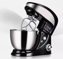 Wholesale Egg House - Free shipping Stainless Steel Housing 4L Home Dough MIxer, lowest price dough mixer for home use LLFA