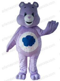 Wholesale Care Bears Parties - AM8141 Care Bear Mascot costume Animal mascot outfit party costumes Customized fur mascot free shipping