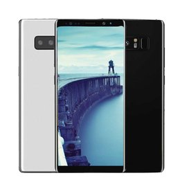 Wholesale Smartphone 8gb - 6.3inch Curved screen Goophone Note8 1G 8G Quad Core 13MP Android 6.0 Show Octa Core 4G LTE Smartphone