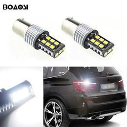 bmw e46 325i Desconto Canbus Carro LED Lâmpada 1156 CREE Chip de Backup de Luzes Inversas Lâmpada para BMW E30 E36 E46 F30