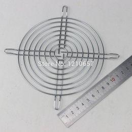 Wholesale Iron Nets - Wholesale- 5 Pieces LOT Fan Protection Net Grille 14CM 140mm Fan Iron Mesh Computer Case Fan Safety Net