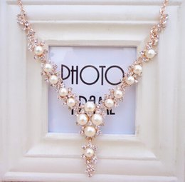 Wholesale Korea Pearl Necklaces - 2016 NEW Necklace Jewelry South Korea hot Pearl Necklace high quality jewelry Wholesale Women s Accessories