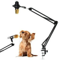 Wholesale Kit Hid Bixenon - Top Quality BM700 Dynamic Microphone Mic + Suspension Boom Scissor Arm Stand Kit For Studio kit hid bixenon h4